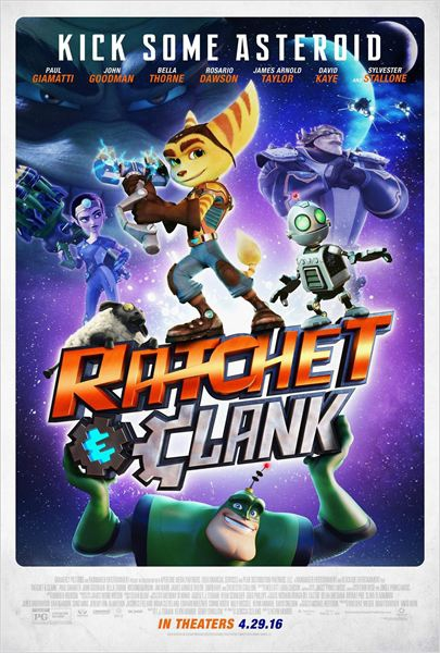 Heróis da Galáxia: Ratchet and Clank  (2016)