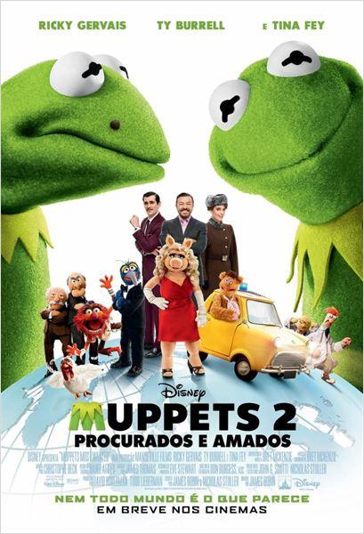 Muppets 2 - Procurados e Amados  (2014)