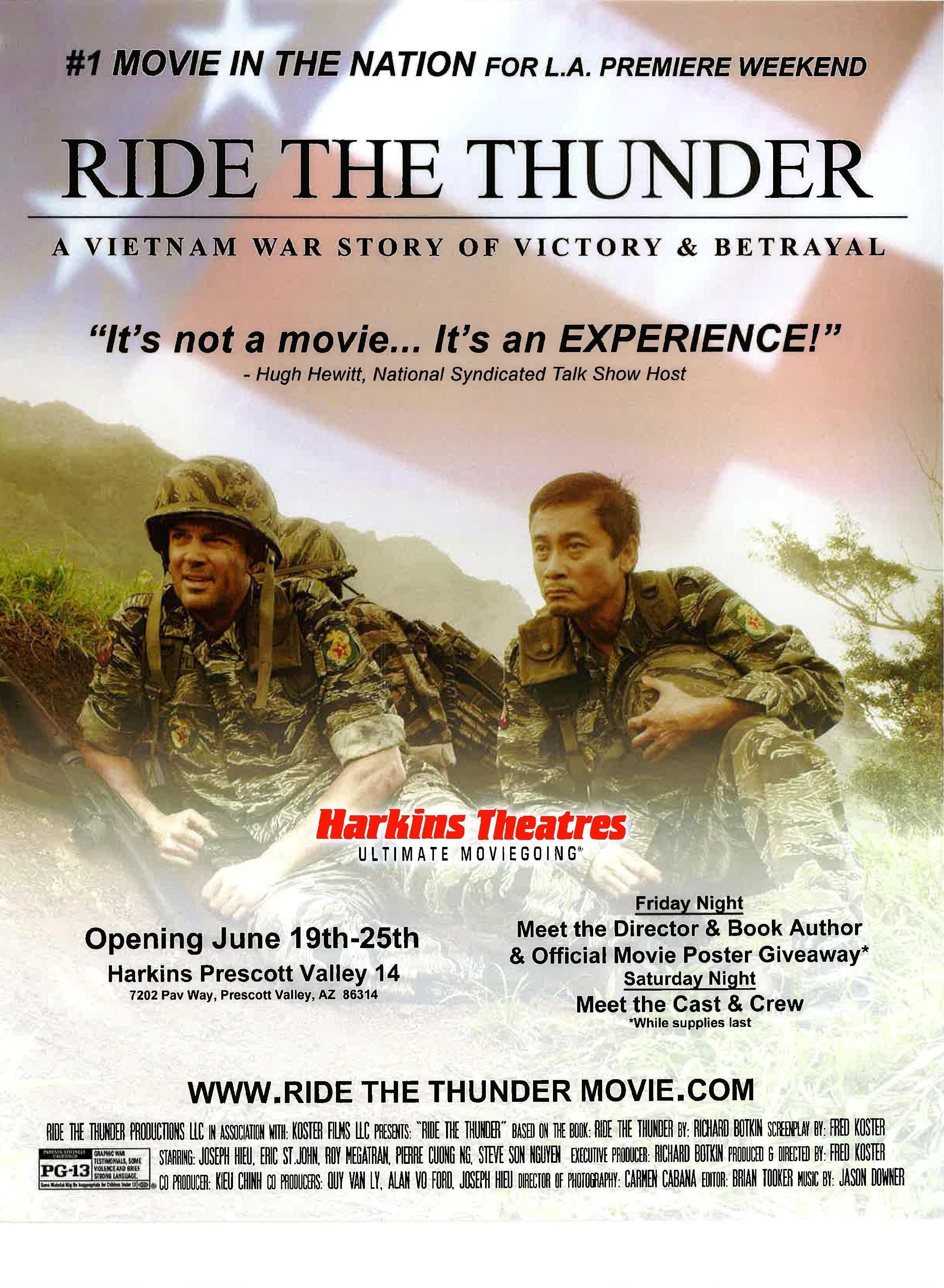 Ride the Thunder (2015)