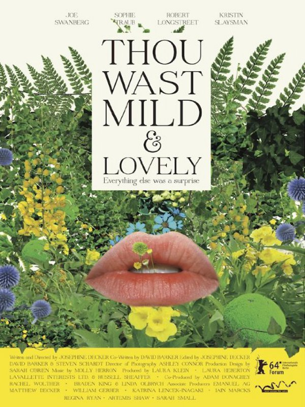 Thou Wast Mild and Lovely  (2014)
