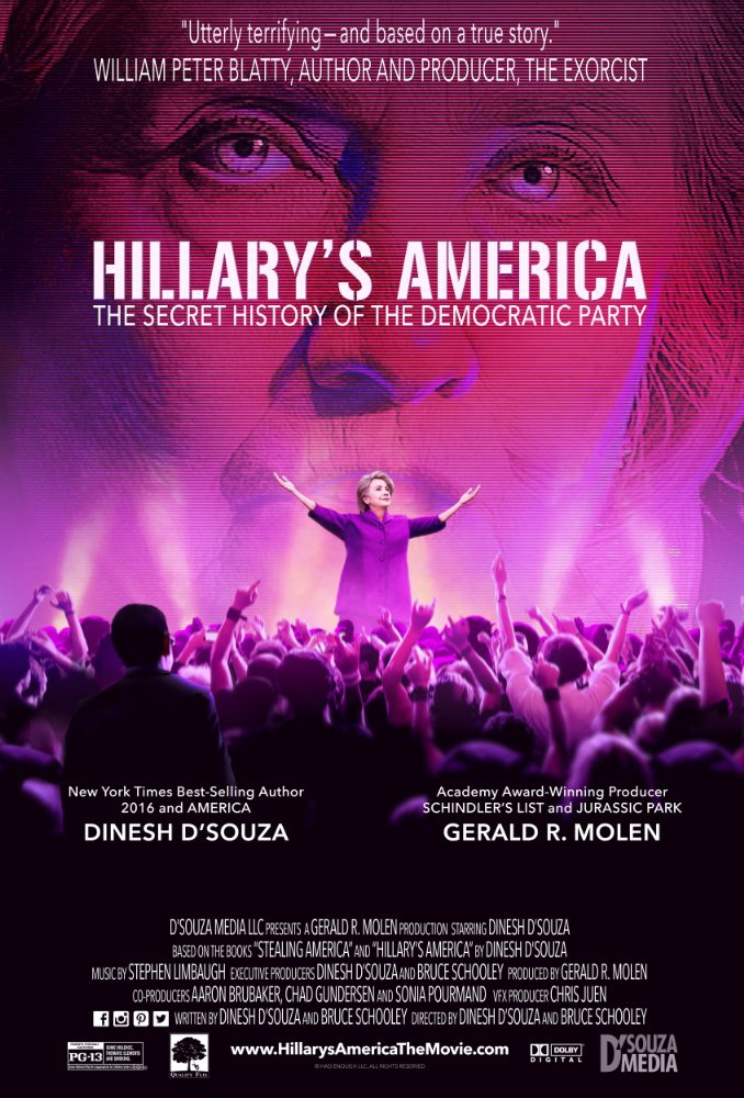 Hillary's America: The Secret History of the Democratic Party (2016)