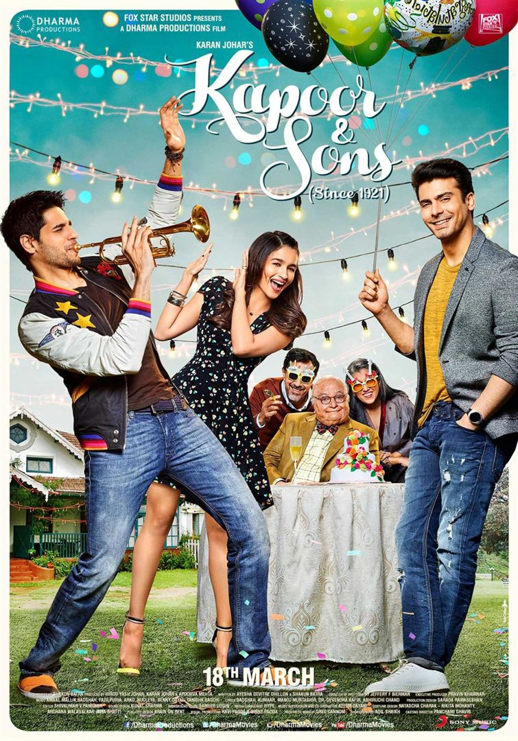 Kapoor and Sons (2016)