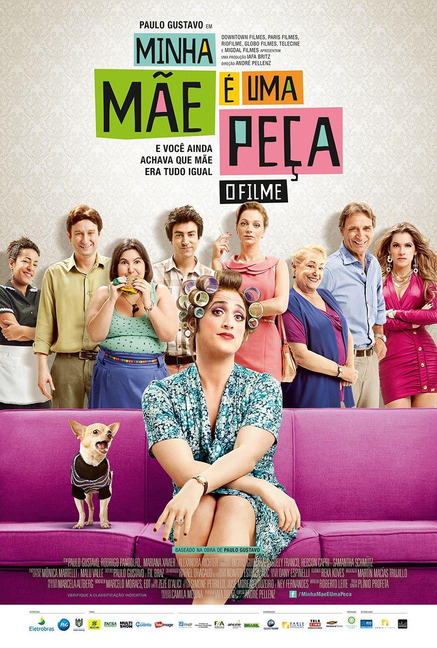 Minha Mãe é uma Peça 2  (2014)